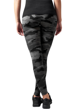 Urban Classics Damen Ladies Camo Leggings – Bild 2