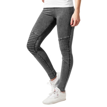 Urban Classics Ladies Denim Jersey Leggings – Bild 1