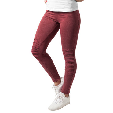 Urban Classics Ladies Denim Jersey Leggings – Bild 3