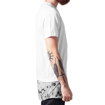 Urban Classics Long Shaped Marble Tee – Bild 4