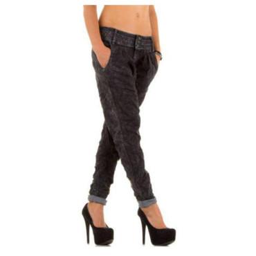 Simply Chic Jeans Boyfriend dunkelgrau – Bild 1