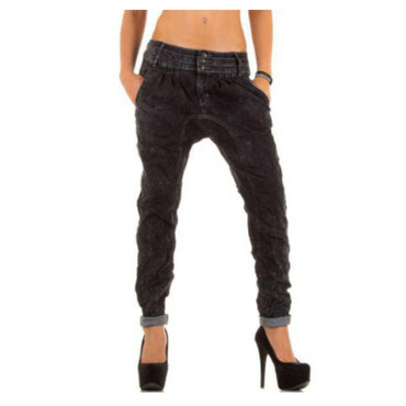 Simply Chic Jeans Boyfriend dunkelgrau – Bild 3