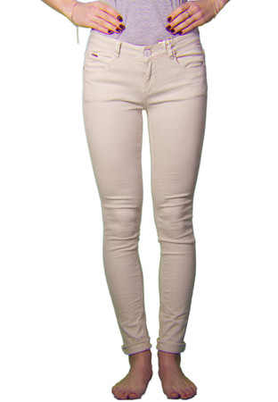 Madonna Jeans 5 Pockets Push Up in beige – Bild 4