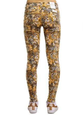 Simply Chic Damen Jeans Hose Röhrenjeans mit Abstraktem Muster – Bild 3