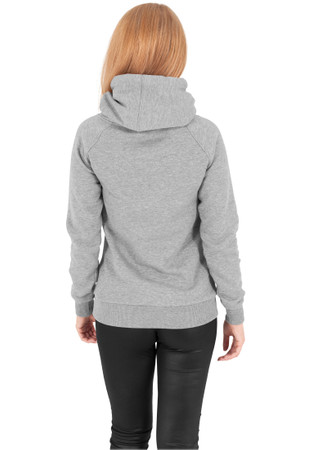 Urban Classics TB1076 Damen Kapuzenpullover Ladies Raglan High Neck Hoody – Bild 8