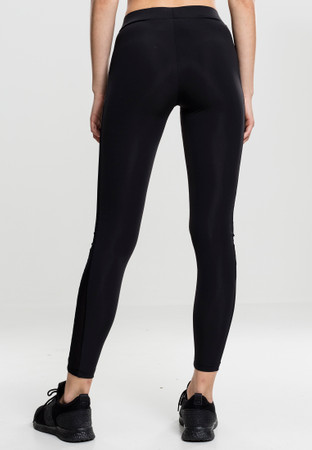 Urban Classics Ladies Tech Mesh Stripe Leggings, Laufhose, Trainingshose – Bild 2