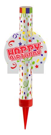 Eisfontäne Happy Birthday