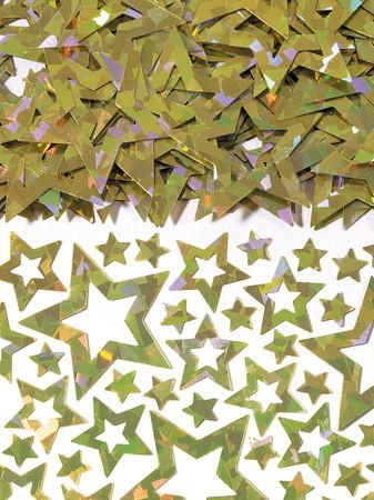 Folienkonfetti Star shimmer gold