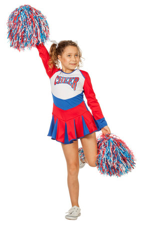 Cheerleader-Kleid