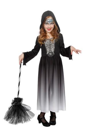 Halloween Kleid mit Kapuze – Bild 1