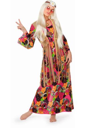 Hippiekleid lang – Bild 1
