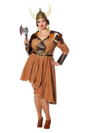 Wikingerin-Kleid – Bild 2