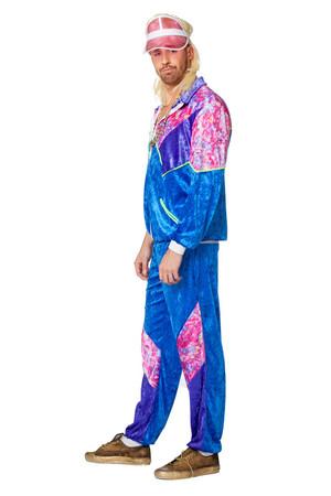 Jogging-Anzug 80s blau – Bild 2