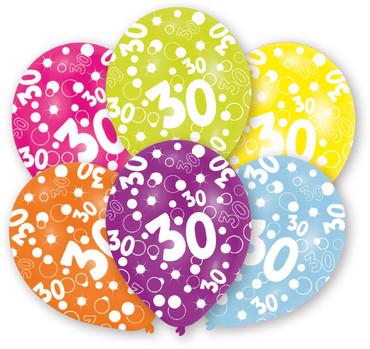 6 Ballons 30