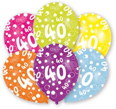 6 Ballons 40