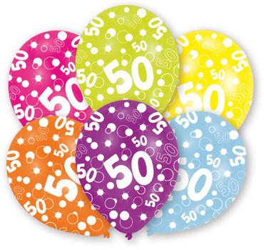 6 Ballons 50