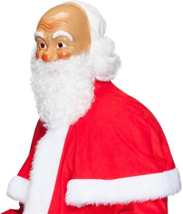 Nikolausmaske mit Bart – Bild 2