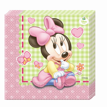 20 Servietten Baby Minnie