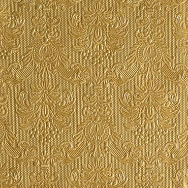 15 Servietten Elegance gold