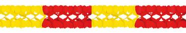 Girlande 4m gelb-rot - Spanien
