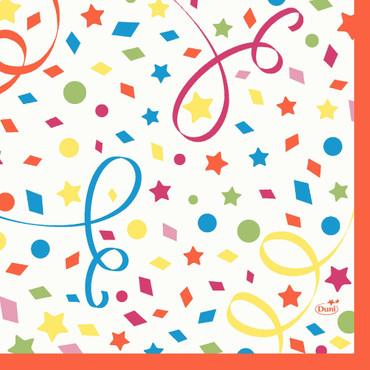 50 Duni Zelltuchservietten Confetti