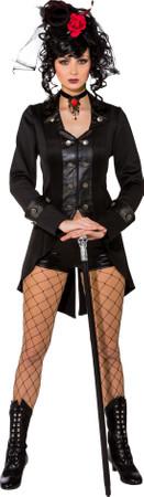 Gothic Jacke, schwarz – Bild 1