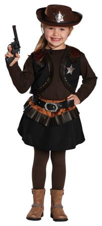 Little Cowgirl-Rock mit Weste – Bild 1