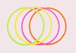 4 Armreifen neon 001