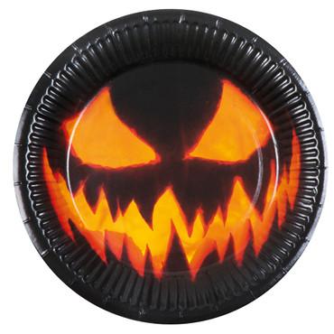 6 Partyteller Creepy Pumpkin