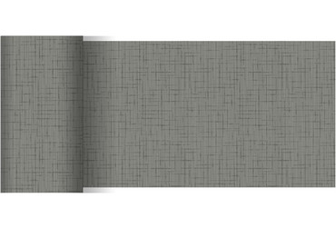 Dunicel Tischläufer Linnea granitey grey