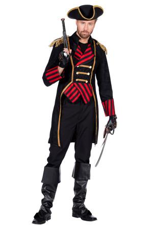 Piraten-Mantel Stripe – Bild 1