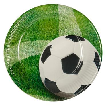 10 Teller Fußball
