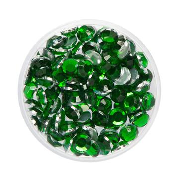 Glizter-Steine smaragd