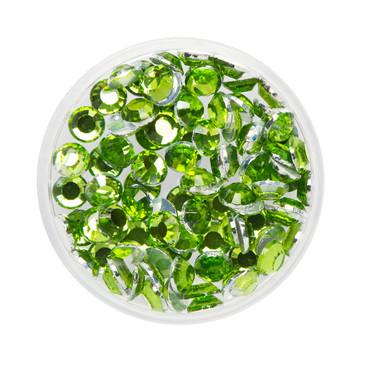 Glitzer-Steine grün