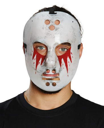 Hockey Maske Blut