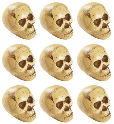 9 Totenköpfe in Beutel – Bild 1