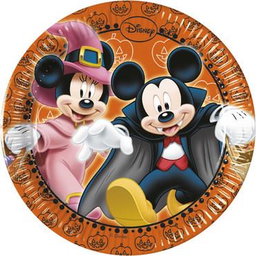 8 Teller Mickey Halloween 20 cm