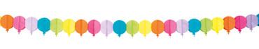 Ballon-Girlande 4 Meter bunt – Bild 1