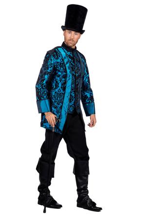 Piraten-Mantel Blue de luxe