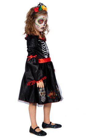 Day of the Dead Kleid – Bild 2