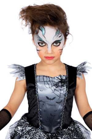 Halloween-Kleid Spinne – Bild 4