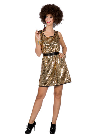 Kleid Disco Queen – Bild 1