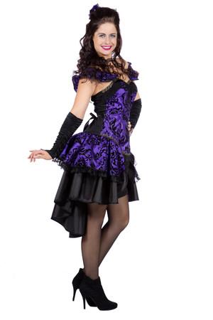 Burlesque-Kleid lila – Bild 2