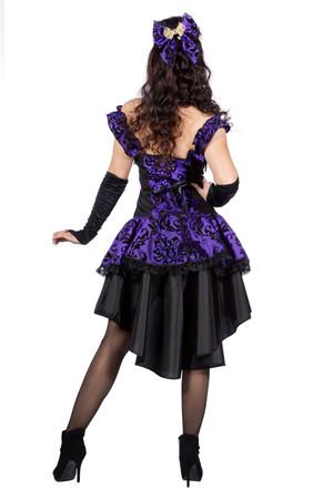Burlesque-Kleid lila – Bild 3