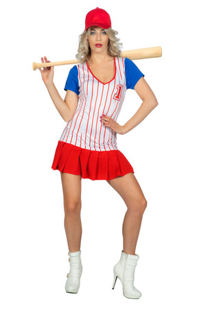 Baseball-Kleid – Bild 1