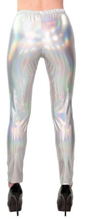 Space Leggings silber-holo – Bild 3