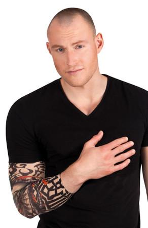 """Armstrumpf Tattoo """"Skull"""" – Bild 1"""