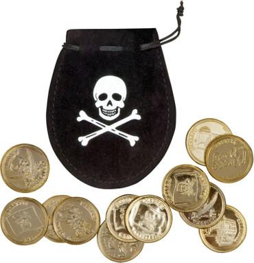Münzbeutel Pirat