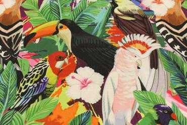 "Bi-Stretch ""Tropische Vögel"" – Bild 5"