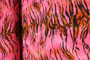 Fellstoff Tiger pink – Bild 5